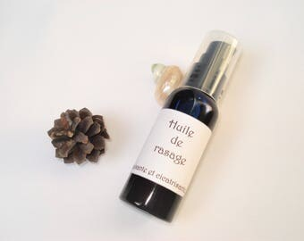 Nourishing, soothing and healing - for men shaving oil / woman