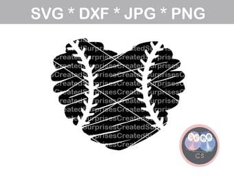 Scribble heart ball with laces, svg, dxf, png, jpg digital cut file for cutting machines, personal, commercial, Silhouette Cameo, Cricut