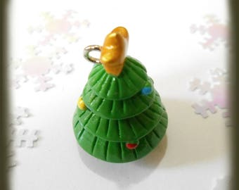 Christmas tree resin cameo in 3 dimension