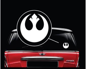 Star Wars Rebel Alliance Car Window Decal Sticker