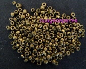 4mm seed beads 12 grams