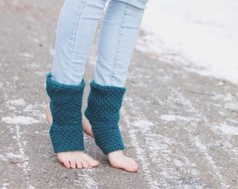 Teal Yoga Socks