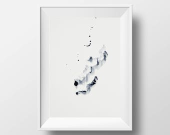 Watercolour Abstract Print 16