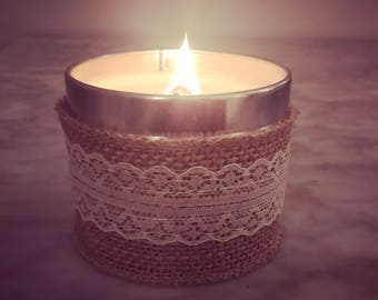 Driftwood on Beach Woodenwick scented candle