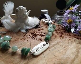 """Bracelet Aventurine """"Destiny"""" - 19cm - par AngelS SignS"""