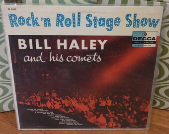 Bill Haley & His Comets LP Record-Rock 'N Roll Stage Show