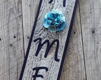 Home Decor Sign, Pallet wood sign, Reclaimed wood Home decor sign, Unique Home decor sign, Rustic decor