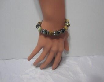 Handmade men tiger eye bracelet