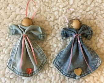 Blue Jean Pocket Angels