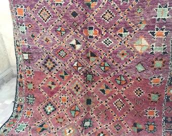Vintage Zayan Tazerbit carpet, moroccan carpet,Tazerbit rug, vintage carpet, berber textiles, berber carpet, 240x170cm