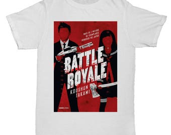 Battle Royale Cult Asian Movie Film Kung Fu 70S Chinese Japanese T Shirt