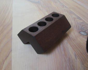 """E-cigarette storage type EGO D22 in """"dark mahogany"""""""