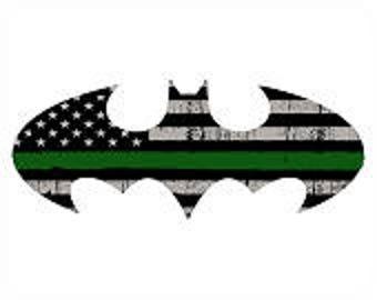 Thin Green Line Batman