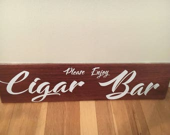 Cigar Bar Sign