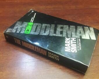 The Middleman by Mark Smith, Vintage Paperbacks, Horror Books, Thriller Books, Cool Paperback Books