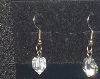 Herkimer diamond earings