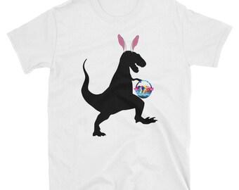 Dinosaur Bunny Shirt, Easter Shirt, Boys Easter Shirt, Easter Bunny, Easter Bunny Shirt, Easter, Boy Easter Shirt, Kids Easter Shirt, Easter