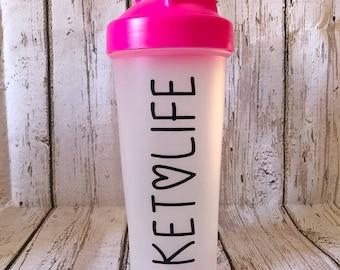 Ketolife 600ml Shaker Bottle BPA Free