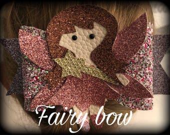 Handmade fairy bow