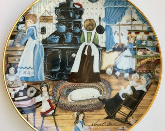 Franklin Mint Heirloom Collection - Home Made Sweets - by Karyn E. Bell Limited Edition Numbered Plate