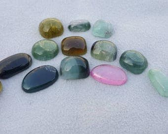 46-ct-top quality tourmaline cabs from Afghanistan