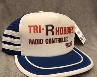 Tri R Hobbies Radio Controlled Racing Hat Vintage Trucker Mesh Snapback Cap 2106