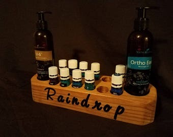 Raindrop Essential Oil Holder/Carrier/Storage