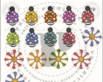 Buggylicious Clip Art Collection #7