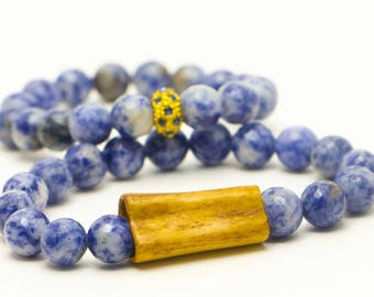 Beautifully Handcrafted Roosevelt's Wooden and Beaded Bracelet