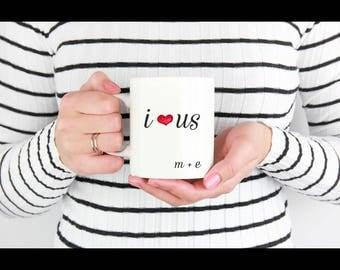 I love US mug|Valentines day gift|