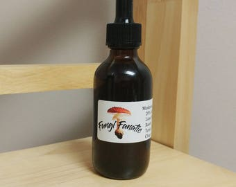 100% Natural Reishi, Lions Mane, Turkey Tail, Chaga Extaction /Tincture PRODUCT of USA