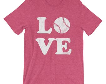 Softball Shirt - Softball Gift for Softball Player - I Love Softball Shirt - Softball Love Shirt - Softball T-shirt - Softball Tshirt