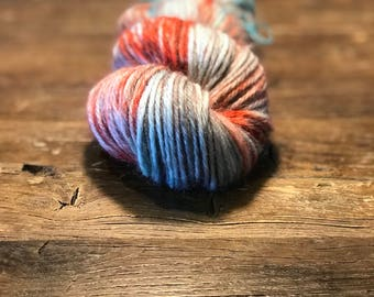Hand Dyed Yarn - Early Morning - 100gm Wool