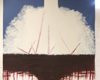 "Painting ""Spiritual Warfare"""