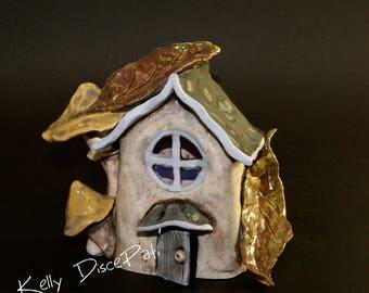 Tea Light Fairy House