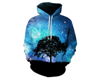 Galaxy Hoodie, Galaxy Sweatshirt, Galaxy, Galaxy Jumper, Galaxy Hoodies, Space, Space Hoodie, 3d Hoodie, 3d Hoodies, Hoodie - Style 46
