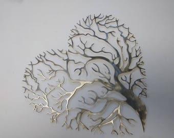 Heart Shaped tree of Life Wall Artwork