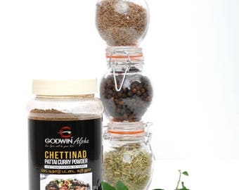 Chettinad Pattai Curry Powder