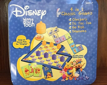 Disney Winnie the pooh classic games 4 in 1