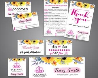 Paparazzi Marketing kit, Paparazzi Bundle, Paparazzi Package, Personalized Paparazzi Card, Paparazzi Marketing Card, Digital file PP05