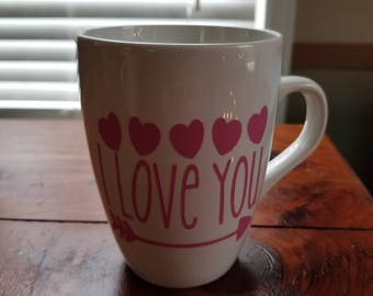 I LOVE YOU - Coffee Mug