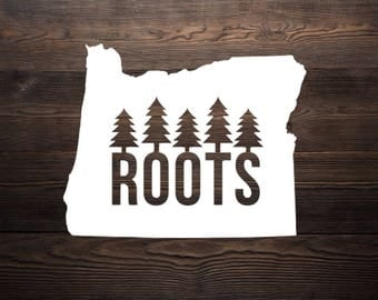 Oregon Roots Decal