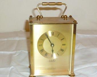 Schiller German carriage clock