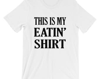 Funny Eating Thanksgiving T-Shirt
