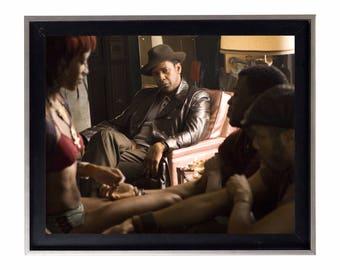 American Gangster Frank Lucas Movie Scene Poster or Art Print