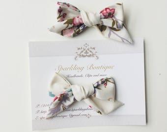 ROSA bow clip set