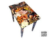 Coffee Table decoupage-ar...