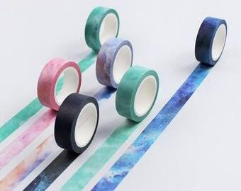 Galaxy Washi Tapes Masking adhesive tapes