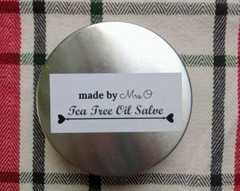 2oz. Tea Tree Oil Salve