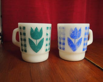 Two beautiful termocrisa mugs